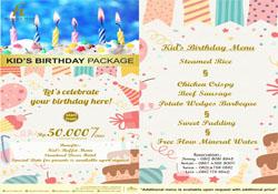 Birhday Package H Boutique Hotel Yogyakarta