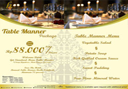 Table manner - H Boutique Hotel