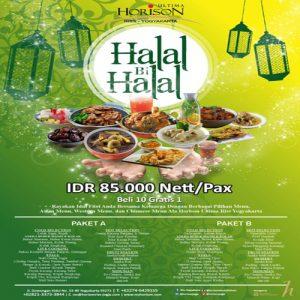 Promo Halal bi Halal Horison Riss Yogya